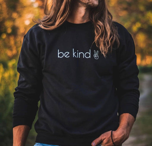 "HAYMAD & Co. - ""BE KIND"" Crew Neck Sweatshirt"
