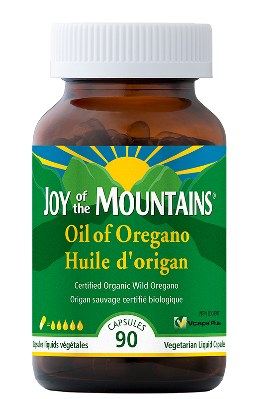 Joy of the Mountains - Oil of Oregano Capsules