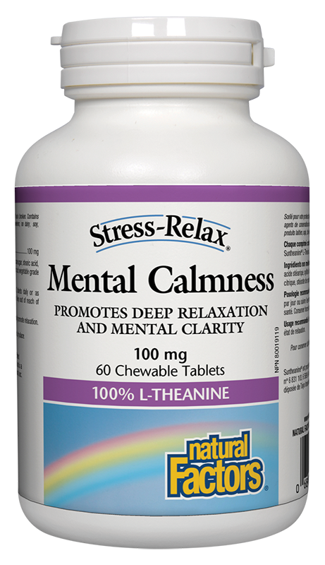 Natural Factors - Mental Calmness 100mg