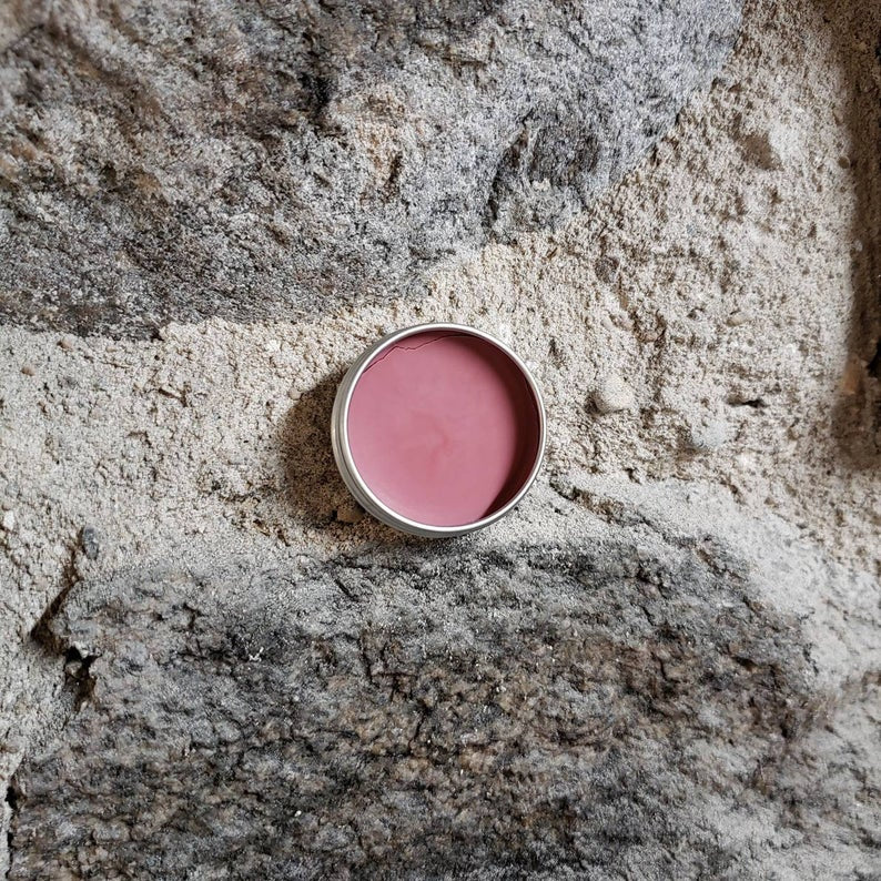 Tin Feather Lip Balm - Taboo (Rosy Red)