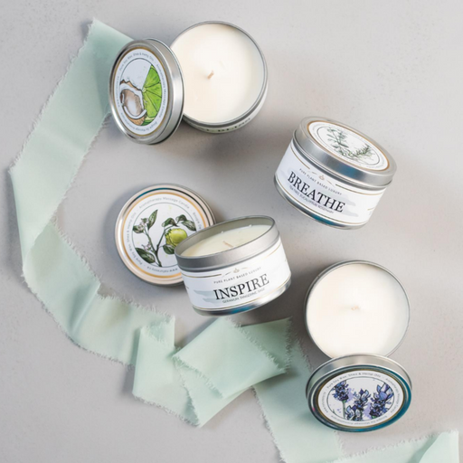 Massage Candle - BREATHE (Tea Tree, Eucalyptus & Rosemary)