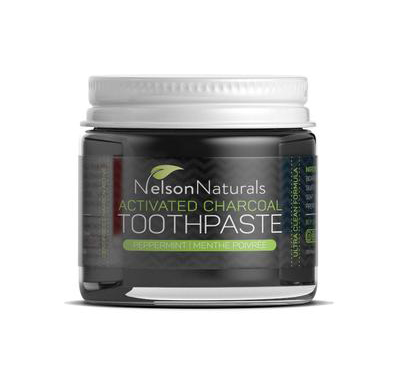 Nelson Naturals - Activated Charcoal Toothpaste