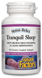 Natural Factors - Tranquil Sleep