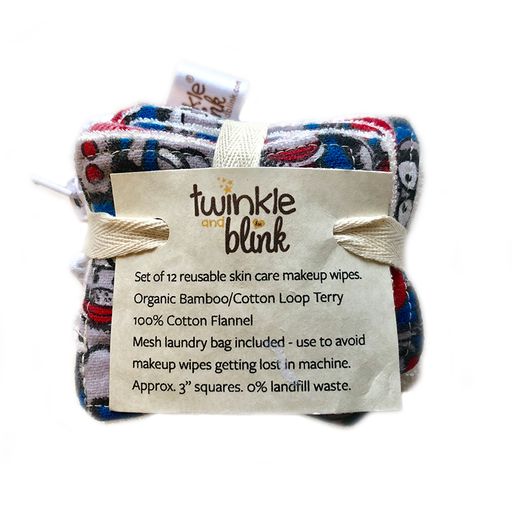 Twinkle & Blink - Reusable Cosmetic Pads w/ Mesh Bag