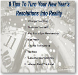 8 great tips you can use to make sure your resolution is successful