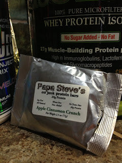 Papa Steve's Protein Bars [Product Review]  Amber Michelle Creations