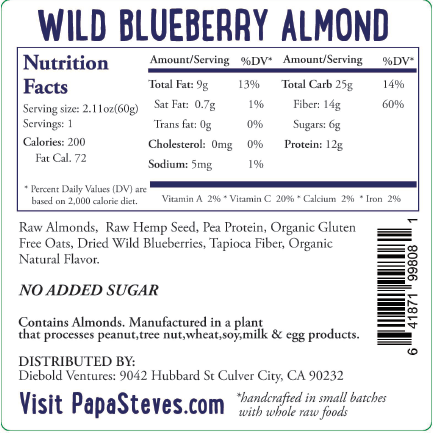 Wild Blueberry Almond