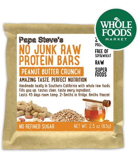 No Junk Raw Protein Bars