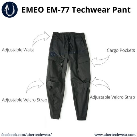 Article on the best alternative for CRS 72 as the entry level budet techwear pant | EMEO77 Techwear Pant | Ubertechwear