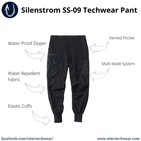 Article on the best alternative for CRS 72 as the entry level budet techwear pant | Silenstorm SS09 Techwear Pant