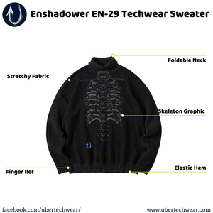 Enshadower EN-29 Techwear Sweater - ubertechwear | Affordable Techwear Clothing