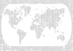 Around the World in Eighty Days Map