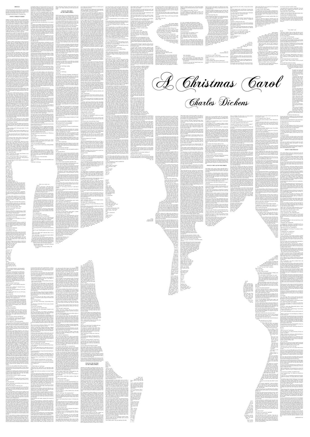 A Christmas Carol Tiny Tim design