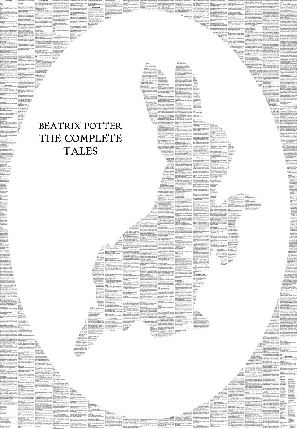 The Complete Peter Rabbit and Friends silhouette
