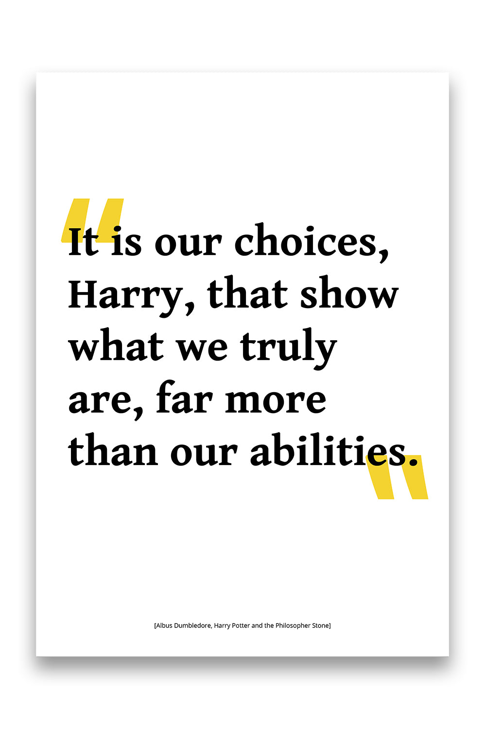 Harry Potter - Choices
