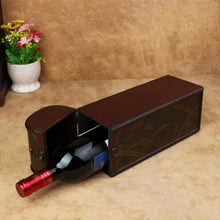 Load image into Gallery viewer, Retro Art Wooden Wine Gift Box
