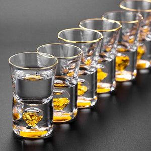 Finer Drinking Crystal Shot Glass