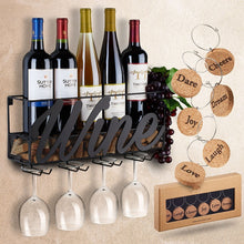 Load image into Gallery viewer, Finer Drinking Wall Mounted Charmed Wine Rack