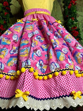 Load image into Gallery viewer, Belle Beauty & the beast vibrant skirt