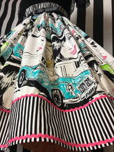 Load image into Gallery viewer, 50s style comic print skirt