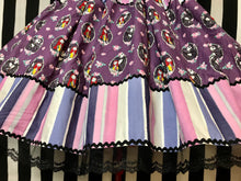 Load image into Gallery viewer, Jack and Sally ornate skirt