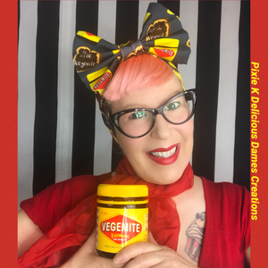 Vegemite and Milo head wrap