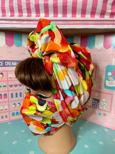 Load image into Gallery viewer, Mixed lollies head wrap