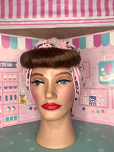 Load image into Gallery viewer, All seeing eye pink head wrap