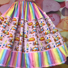 Load image into Gallery viewer, The yellow family skirt
