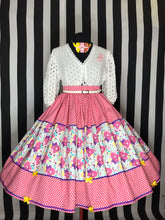 Load image into Gallery viewer, Care Bears white and pink skirt