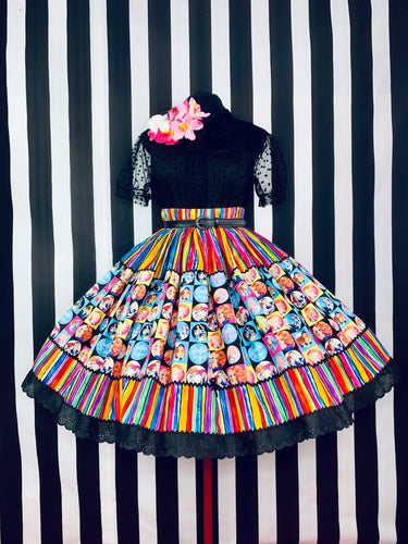 The ultimate vintage doll couple skirt