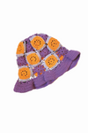 TRUONGII Crochet Hat Purple