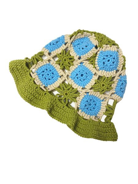 TRUONGII Crochet Hat Green