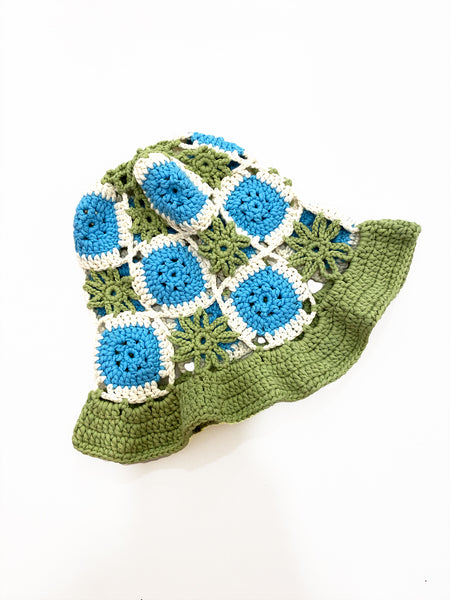 TRUONGII Crochet Hat Light Green