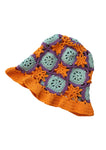 TRUONGII Crochet Hat Orange