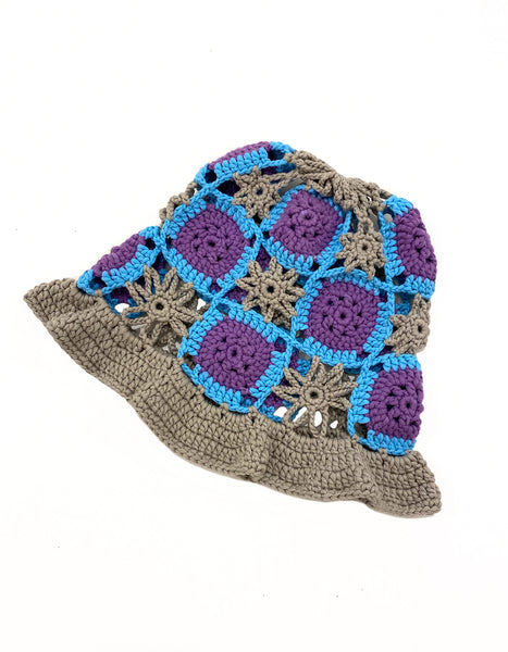TRUONGII Crochet Hat Grey