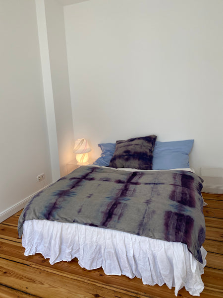 TRUONGII Home Tie Dye Bed Sheet
