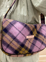 TRUONGII BIG CHECKED LILA TUSSI Bag