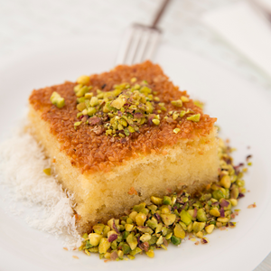 Orange Revani (Semolina Cake)