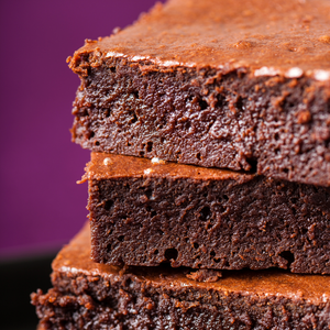 Orange Zest Fudge Brownie