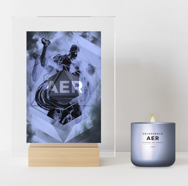 AER SUPREME digital collectible candle