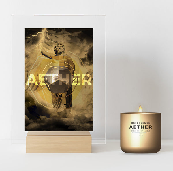 AETHER SUPREME digital collectible candle