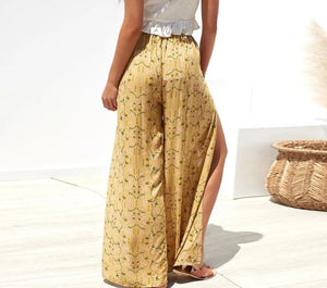 Martinez High Waist Wide Leg Pants