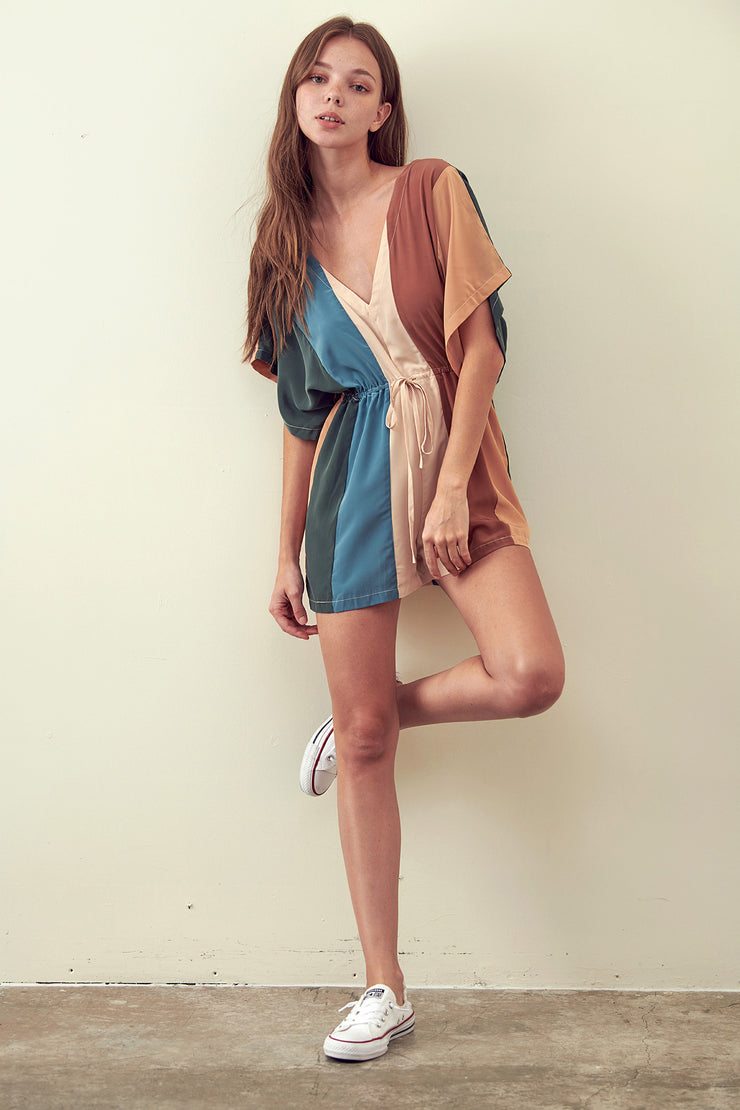 The Fall Vibes Romper
