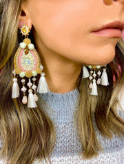 The Polly Pom Earrings