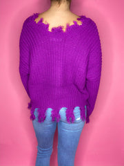 Millie Magenta Sweater