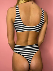 The Stripe Sailor Bikini