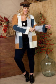 The Carrie Block Cardigan