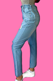 The Kelly Paperbag Denim