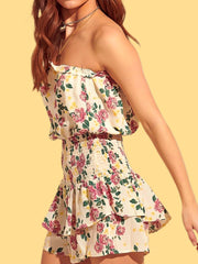 The Ellie Smocked Romper